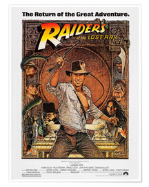 Juliste  Indiana Jones - Raiders of the lost ark
