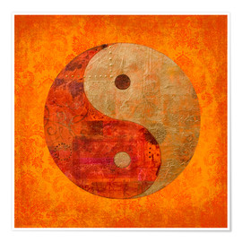 Juliste  Yin and yang - Andrea Haase