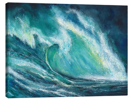 Canvas-taulu  The power of the sea - Jitka Krause