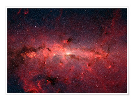 Juliste The center of the Milky Way