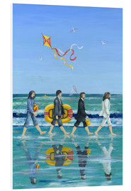 PVC-taulu  Abbey Road Beach - Peter Adderley