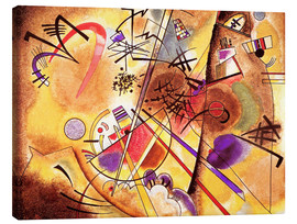 Canvas-taulu  Small dream in red - Wassily Kandinsky