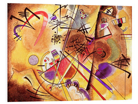PVC-taulu  Small dream in red - Wassily Kandinsky