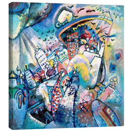 Canvas-taulu  Red square - Wassily Kandinsky