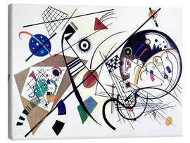 Canvas-taulu  Continuous line - Wassily Kandinsky