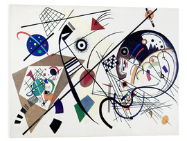 PVC-taulu  Continuous line - Wassily Kandinsky