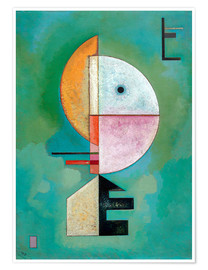 Juliste  Upward - Wassily Kandinsky