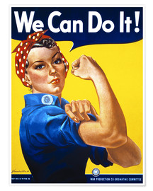 Juliste  We can do it (english) - Advertising Collection