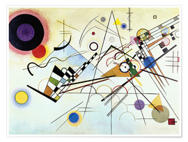 Juliste  Composition no. 8 - Wassily Kandinsky
