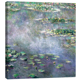 Canvas-taulu  Water-Lily pond - Claude Monet