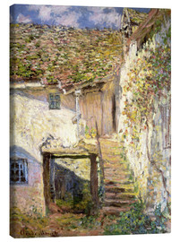 Canvas-taulu  The staircase - Claude Monet