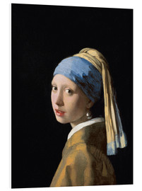 PVC-taulu  Girl with the Pearl Earring - Jan Vermeer
