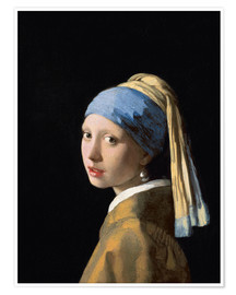 Juliste  Girl with the Pearl Earring - Jan Vermeer