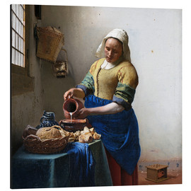 Alumiinitaulu  The Milkmaid - Jan Vermeer