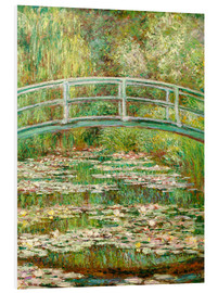 PVC-taulu  The Japanese bridge - Claude Monet