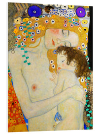 PVC-taulu  Mother and Child (detail) - Gustav Klimt