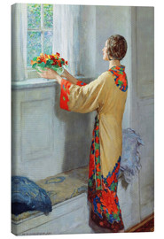 Canvas-taulu  New day - William Henry Margetson