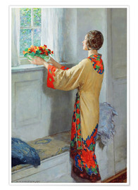 Juliste  New day - William Henry Margetson