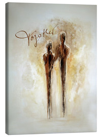 Canvas-taulu  Two of us - Tina Melz