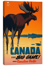 Canvas-taulu  Canada travel for big game - Travel Collection