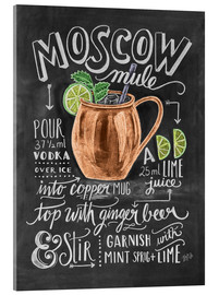 Akryylilasitaulu  Moscow Mule - Lily & Val