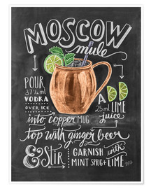 Juliste  Moscow Mule - Lily & Val