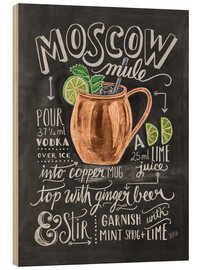 Puutaulu  Moscow Mule - Lily & Val