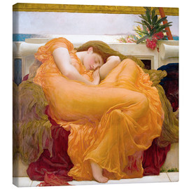 Canvas-taulu  Flaming June - Frederic Leighton