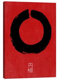 Canvas-taulu  Enso in Japan - THE USUAL DESIGNERS