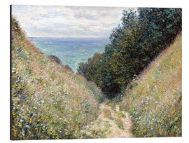 Alumiinitaulu  Road at La Cavée, Pourville - Claude Monet