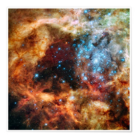 Juliste  Doradus star clusters - NASA