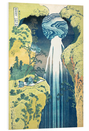 PVC-taulu  Waterfall of Amida at the Kiso Street - Katsushika Hokusai