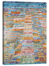 Canvas-taulu  Main path and Byways - Paul Klee
