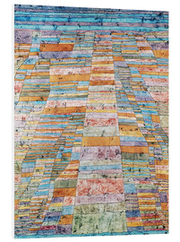 PVC-taulu  Main path and Byways - Paul Klee