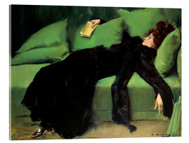 Akryylilasitaulu  After the ball - Ramon Casas i Carbo