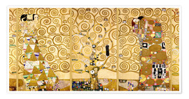 Juliste  The Tree of Life (Complete) - Gustav Klimt