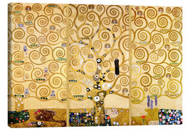 Canvas-taulu  The tree of life - Gustav Klimt