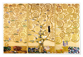 Juliste  The tree of life - Gustav Klimt