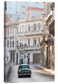 Canvas-taulu  Taxi driving in Havana - Lee Frost