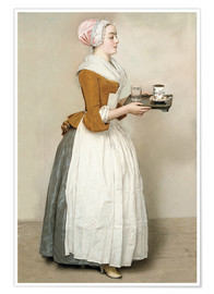 Juliste  The Chocolate Girl - Jean Etienne Liotard
