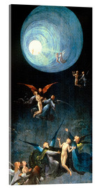 Akryylilasitaulu  The Ascent to the Heavenly Paradise - Hieronymus Bosch