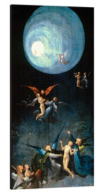 Alumiinitaulu  The Ascent to the Heavenly Paradise - Hieronymus Bosch