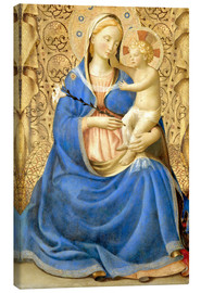 Canvas-taulu  Madonna with Child - Fra Angelico