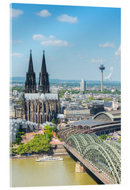 Akryylilasitaulu  Cologne Cathedral (Cathedral of St. Peter) - rclassen