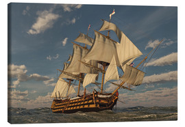 Canvas-taulu  the British proud - Peter Weishaupt