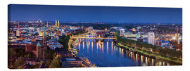 Canvas-taulu  Bremen at the blue hour - Tanja Arnold Photography