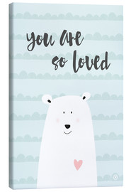 Canvas-taulu  You are so loved - Mint - m.belle
