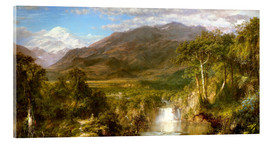 Akryylilasitaulu  Heart of the Andes - Frederic Edwin Church