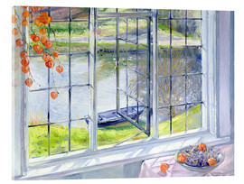 Akryylilasitaulu  View of the boat - Timothy Easton