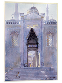 Akryylilasitaulu  Gateway to The Blue Mosque - Lucy Willis